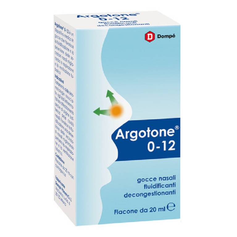 ARGOTONE 0-12 SOL NASALE 20ML
