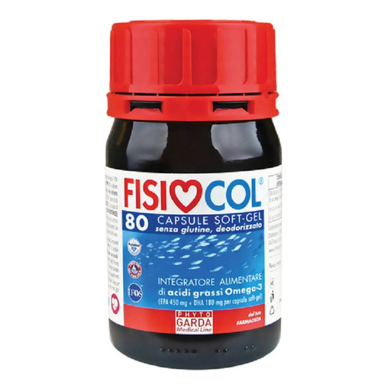 FISIOCOL OMEGA 3 80CPS